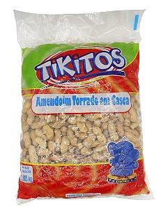 AMENDOIM TORRADO COM CASCA 1KG TIKITOS
