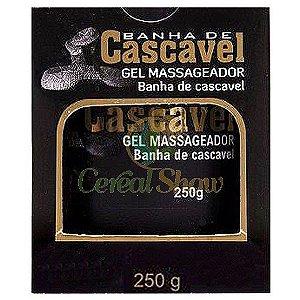 GEL MASSAGEADOR BANHA DE CASCAVEL 250g