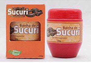GEL MASSAGEADOR BANHA DE SUCURI 250g