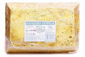 RAPADURA BATIDA AMARELA 800GR ESTRELA