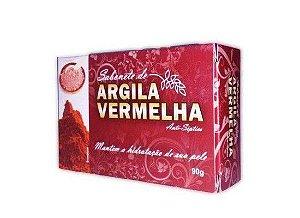 SABONETE NATURAL COM ARGILA VERMELHA 90G BIONATURE