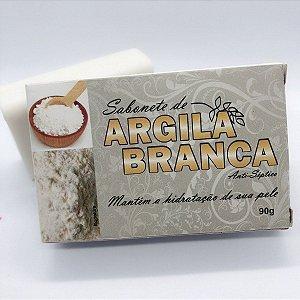 SABONETE NATURAL COM ARGILA BRANCA 90G BIONATURE