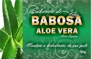 SABONETE NATURAL DE ALOE VERA 90G BIONATURE
