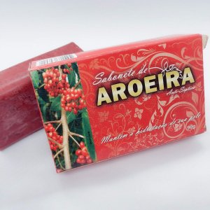 SABONETE NATURAL AROEIRA 90G BIONATURE