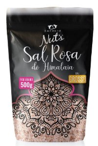Sal Rosa do Himalaia Grosso - Empório Nuts 500g