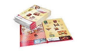 Encartes Supermercado  Couché 80g  500und 4x4