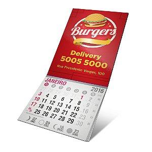 Ima de geladeira com calendário 5x4cm 1000 unidades