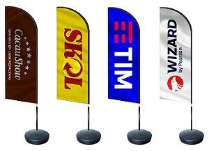 Flag Banner com Base
