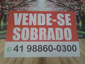 Placa Personalizada Vende-se