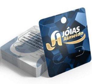 Cartelas para Bijuterias com Hot Stamping