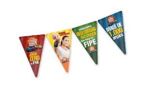 Bandeirolas Personalizadas pequenas