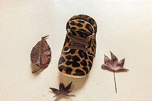 Boot Cano Curto - Animal Print