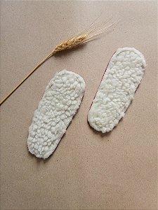 Palmilha de lã