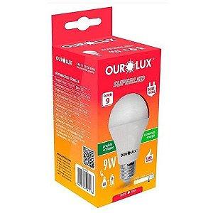 Lâmpada Led 9w Luz Branca Fria 6500k - Ourolux