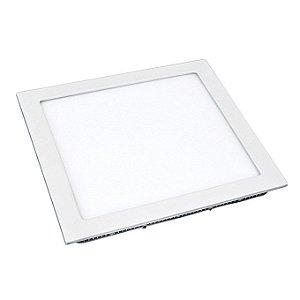 Luminária Led Embutir Quadrada 12w / 18w / 24w Luz Branca - Lumanti