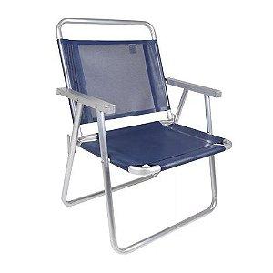 Cadeira Oversize Alumínio 140kg - Mor