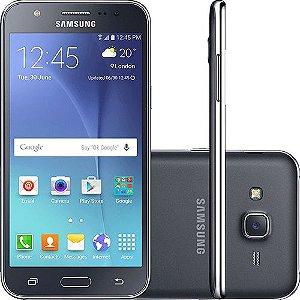 "Smartphone Samsung Galaxy J5 Duos Dual Chip Android 5.1 Tela 5"" 16GB 4G Wi-Fi Câmera 13MP - Preto"