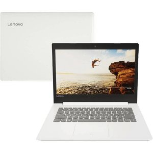 Notebook Lenovo Ideapad 320 Intel® Core i3 4GB 500GB Tela 14'' HD Antireflexo Windows 10 - Branco