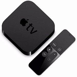 Apple Tv 4ª Geração 32gb Controle Bluetooth Mgy52e Original