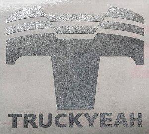 Adesivo Refletivo Truckyeah T Silver 10cm