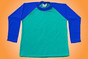 Camisa UV - Azul e Verde