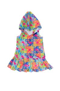 Vestido Toalha - Flamingo