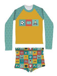 Camisa UV + Sunga - Futebol