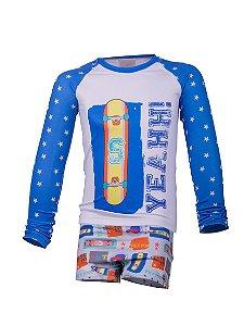 Camisa UV + Sunga - Skate