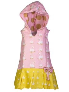 Vestido Toalha - Cisne