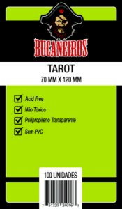 Sleeves Bucaneiros - (Tarot) - 70 x 120 mm