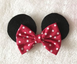 Minnie Mouse Bico de Pato