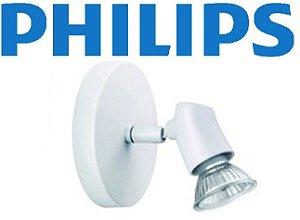 Spot Sobrepor Metal Branco Philips Bivolt Direcionável