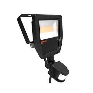 Refletor Led Floodlight 20W Bivolt IP65 5000K Preto Com Sensor OSRAM