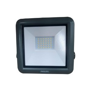 Refletor Led Aluminio 20w Biv Ip65 5700k Preto PHILIPS