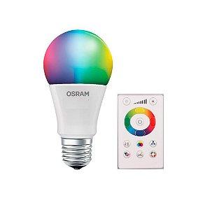 Lampada Led Bulbo 7.5W Bivolt E27 RGB Com Controle 7014872