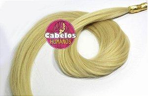 Cabelo Humano Premium Liso Loiro 50 55 cm 50 grs