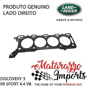 Junta do Cabeçote Land Rover Discovery 3 Range Rover 4.4 V8 Gasolina - LADO DIREITO - GENUINA