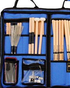 BAG LUXO em Nylon para 20 pares de Baquetas - Azul