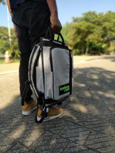 Bag Luxo na Cor Cinza, (EDIÇÃO COMEMORATIVA)
