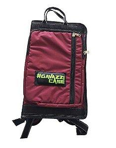 BAG LUXO em Nylon para 20 pares de Baquetas - Roxo