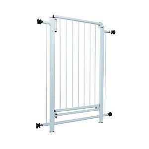 Portão grade proteção 80x70cm segurança para bebes e Animais - Maxeb