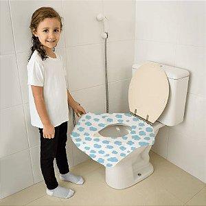 Protetor Descartavel para Vaso Sanitário 12 Unidades Multik