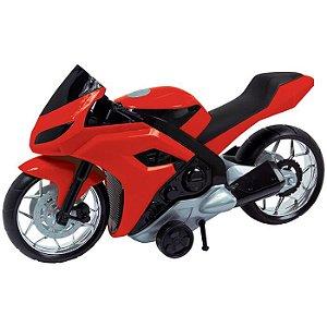 Moto Evolution Vermelho 186F Bs Toys