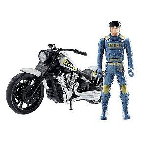 Moto Patrulha Rodoviária - Cod. 324 BS Toys