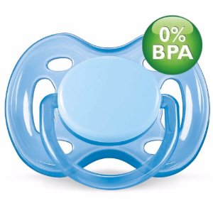 Chupeta Free Flow BPA Free 0-6 Meses Single Pack AZUL Philli