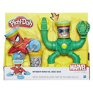 Conjunto PlayDoh Spiderman vs Dr Octopus Hasbro - B9364