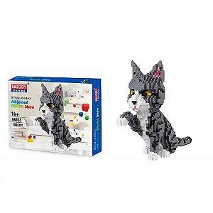 Blocos de Montar Pet Gato - BR879