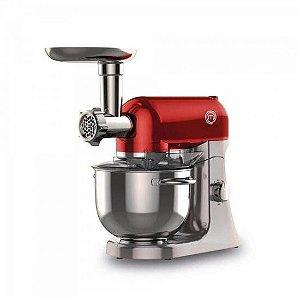 Batedeira Planetária Premium 1000W 220V BA3001V Vermelha - Master Chef