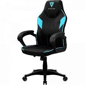 Cadeira Gamer Pro EC1 Cyano ( Azul e Preto ) -  THUNDERX3