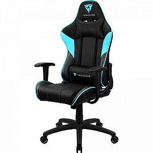 Cadeira Gamer Pro  EC3 Cyano  ( Azul e Preto ) - THUNDERX3